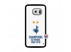 Coque Samsung Galaxy S6 Edge Champion Du Monde Translu