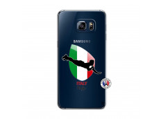 Coque Samsung Galaxy S6 Edge Coupe du Monde Rugby-Italy