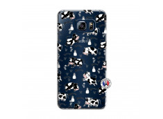 Coque Samsung Galaxy S6 Edge Cow Pattern