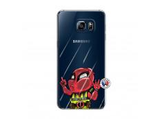Coque Samsung Galaxy S6 Edge Dead Gilet Jaune Impact