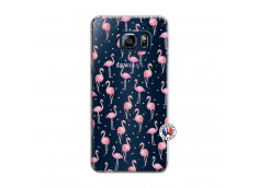 Coque Samsung Galaxy S6 Edge Flamingo