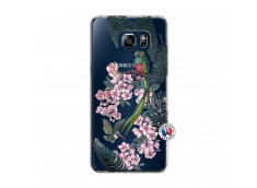 Coque Samsung Galaxy S6 Edge Flower Birds