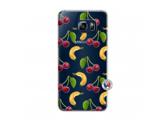 Coque Samsung Galaxy S6 Edge Hey Cherry, j'ai la Banane