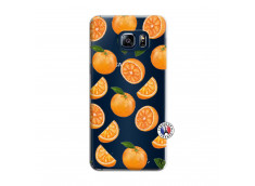 Coque Samsung Galaxy S6 Edge Orange Gina