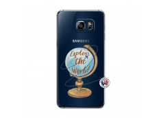 Coque Samsung Galaxy S6 Edge Globe Trotter