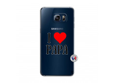 Coque Samsung Galaxy S6 Edge I Love Papa