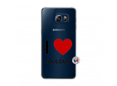 Coque Samsung Galaxy S6 Edge I Love Toulouse