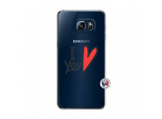Coque Samsung Galaxy S6 Edge I Love You