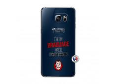 Coque Samsung Galaxy S6 Edge J Peux Pas J Ai Un Braquage Avec Le Professeur