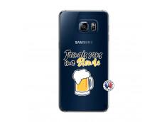 Coque Samsung Galaxy S6 Edge Jamais Sans Ma Blonde