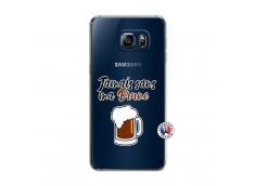 Coque Samsung Galaxy S6 Edge Jamais Sans Ma Brune