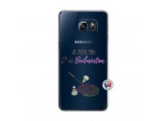 Coque Samsung Galaxy S6 Edge Je Peux Pas J Ai Badminton