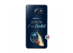 Coque Samsung Galaxy S6 Edge Je peux pas j'ai cricket