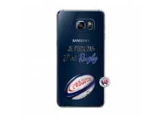 Coque Samsung Galaxy S6 Edge Je Peux Pas J Ai Rugby