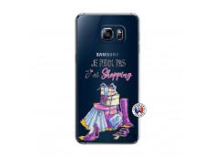 Coque Samsung Galaxy S6 Edge Je Peux Pas J Ai Shopping