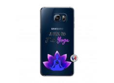 Coque Samsung Galaxy S6 Edge Je Peux Pas J Ai Yoga