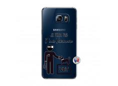 Coque Samsung Galaxy S6 Edge Je Peux Pas Je Suis Veterinaire