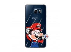 Coque Samsung Galaxy S6 Edge Mario Impact