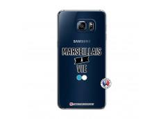 Coque Samsung Galaxy S6 Edge Marseillais à Vie