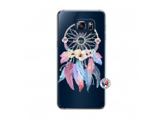 Coque Samsung Galaxy S6 Edge Multicolor Watercolor Floral Dreamcatcher