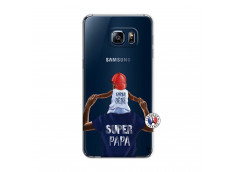 Coque Samsung Galaxy S6 Edge Papa Super Heros