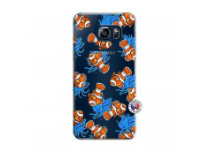 Coque Samsung Galaxy S6 Edge Poisson Clown
