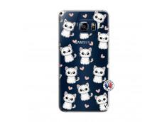 Coque Samsung Galaxy S6 Edge Petits Chats