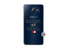 Coque Samsung Galaxy S6 Edge Rien A Foot Allez Arsenal