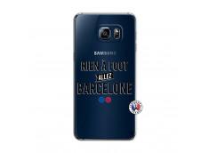 Coque Samsung Galaxy S6 Edge Rien A Foot Allez Barcelone