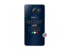 Coque Samsung Galaxy S6 Edge Rien A Foot Allez L'Italie