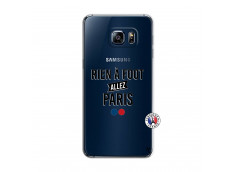 Coque Samsung Galaxy S6 Edge Rien A Foot Allez Paris