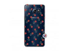 Coque Samsung Galaxy S6 Edge Rose Pattern