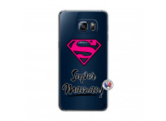 Coque Samsung Galaxy S6 Edge Super Maman