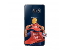 Coque Samsung Galaxy S6 Edge Super Papa et Super Bébé