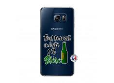 Coque Samsung Galaxy S6 Edge Tout Travail Merite Sa Biere
