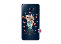 Coque Samsung Galaxy S6 Edge Puppies Love