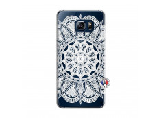 Coque Samsung Galaxy S6 Edge White Mandala