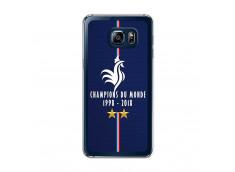 Coque Samsung Galaxy S6 Edge Plus Champions Du Monde 1998 2018 Transparente