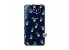 Coque Samsung Galaxy S6 Cactus Pattern