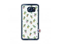 Coque Samsung Galaxy S6 Le Monde Entier est un Cactus Translu