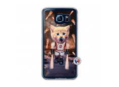 Coque Samsung Galaxy S6 Cat Nasa Translu