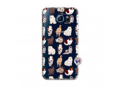 Coque Samsung Galaxy S6 Cat Pattern