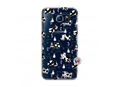 Coque Samsung Galaxy S6 Cow Pattern