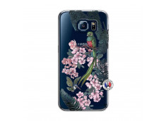 Coque Samsung Galaxy S6 Flower Birds