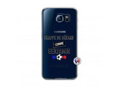 Coque Samsung Galaxy S6 Frappe De Batard Comme Benjamin