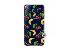 Coque Samsung Galaxy S6 Hey Cherry, j'ai la Banane