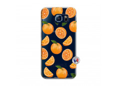 Coque Samsung Galaxy S6 Orange Gina