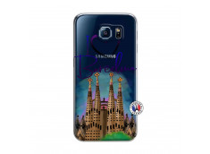 Coque Samsung Galaxy S6 I Love Barcelona