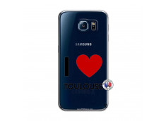 Coque Samsung Galaxy S6 I Love Toulouse