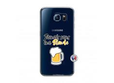 Coque Samsung Galaxy S6 Jamais Sans Ma Blonde